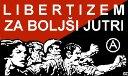 Plakat prireditve Libertizem za boljši jutri